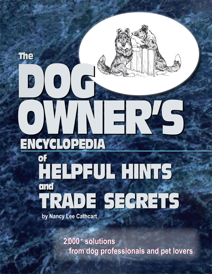 Dog Owners book flyer